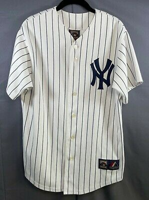 $59.99 • Buy MLB Majestic Mickey Mantle Men's Large Cooperstown Edition Yankees Jersey