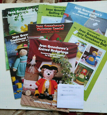 £6.85 • Buy Jean Greenhowe Toy Knitting Pattern Books / Booklets - Choose Titles (Old Stock)