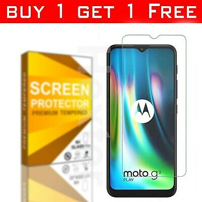 £2.72 • Buy Tempered Glass Screen Protector For Motorola Moto G6 G7 G8 G9 Power Plus Play