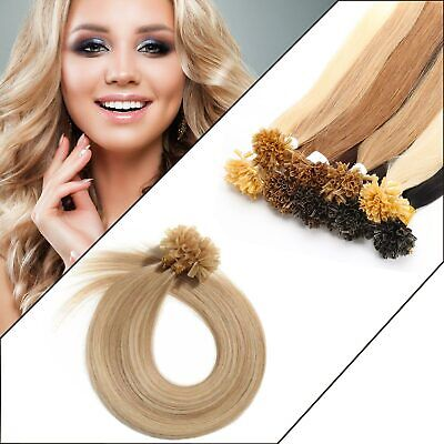 £22.99 • Buy Straight U Tip Full Set Remy Human Hair Extension Lustrous Deluxe Remy UK
