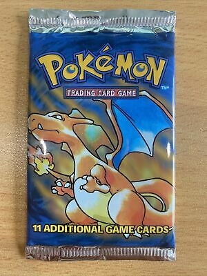 AU202.50 • Buy Pokemon Base Set Booster Pack SEALED Unsecured Fresh From Booster Box Trusted 2