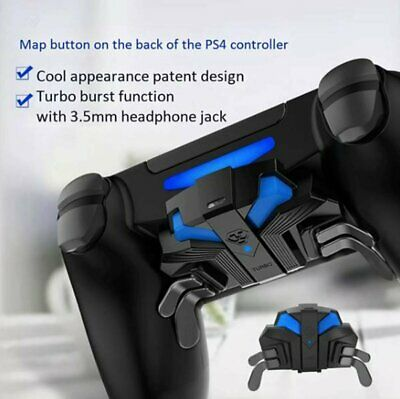 AU46.05 • Buy FPS Controller Gamepad Mapping Key With MODS & Paddles Turbo For PS4 Slim/Pro