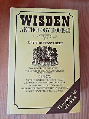£18 • Buy Wisden Anthology 1900 - 1940 Edited By Benny Green