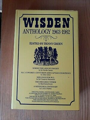 £18 • Buy Wisden Anthology 1963 - 1982 Edited By Benny Green
