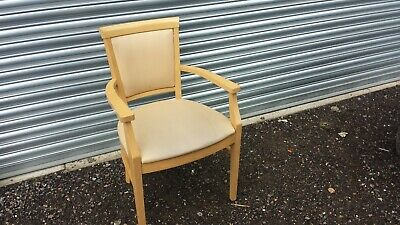 £15 • Buy  Shackletons Beech Wood Vinyl Covered Chairs