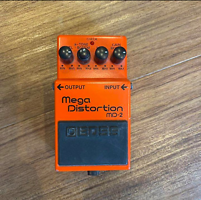 $ CDN68.59 • Buy BOSS MD-2 Mega Distortion Guitar Effects Pedal From Japan Tested And Working