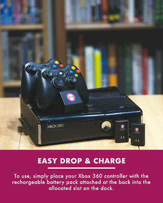 £14.99 • Buy Xbox 360 Controller Fast Charging Dual Docking Station With Simultaneous Charge