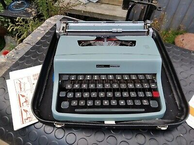 £17.49 • Buy Olivetti Lettera 32 Typewriter Working But Needs New Ribbon As Very Faint.1960's