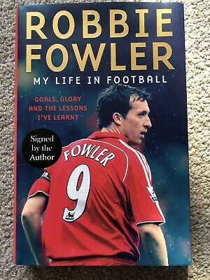 £19.99 • Buy Robbie Fowler Signed Book: My Life In Football