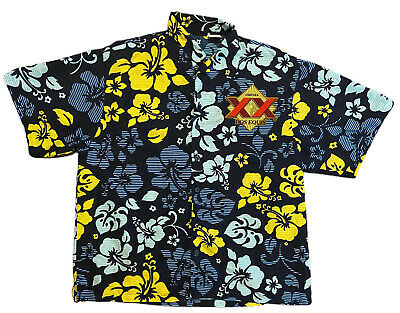 $21.90 • Buy Dos Equis Beer Multicolor Floral All Over Print Button Up Shirt Adult Size XL