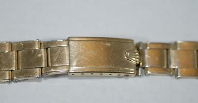 $ CDN978.04 • Buy Rolex Oyster 14K Gold Plated 19mm Watch Bracelet Band Fit 1550 1024 6634 Ex+!