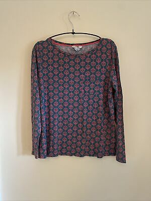 AU6.13 • Buy Boden Green And Pink Summer Top Size 12
