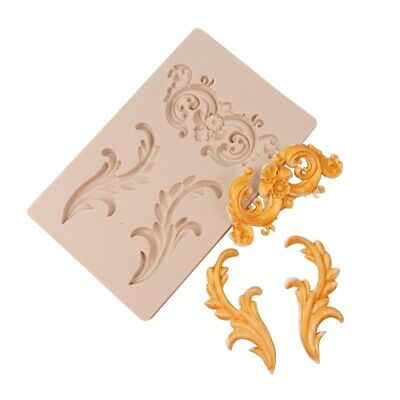 £5.50 • Buy Baroque Relief Silicone Mould Vintage European Fondant Cake Border Molds Large