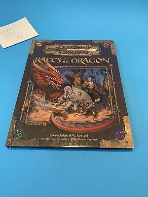 AU104.64 • Buy Races Of The Dragon Dungeons & Dragons Supplement By Kestrel, Gwendolyn F V 3.5