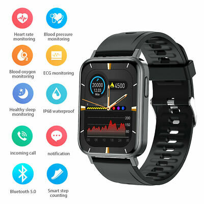 AU38.74 • Buy Waterproof Bluetooth Smart Watch Fitness Tracker For IOS IPhone  Android Samsung