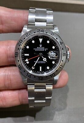 $ CDN10281.98 • Buy Rolex Explorer II 16570 Stainless Steel, Box And Papers, Tritium Dial