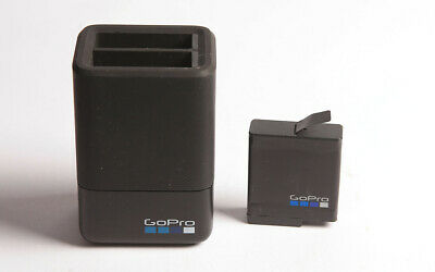 $ CDN27.03 • Buy GOPRO DUAL BATTERY CHARGER And SPARE BATTERY Hero5, 6 & 7 Compatible