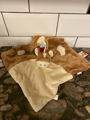£15 • Buy Noukie's Cow Horse Baby Puppet Comforter Blanket Soft Plush Toy