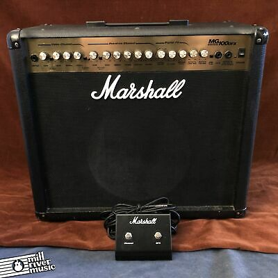 £217.14 • Buy Marshall MG100DFX 100W 1x12  Guitar Combo W/ Footswitch
