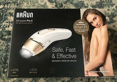 View Details Braun Silk-Expert Pro 5 PL5014 Permanent Laser Hair Removal IPL For Body & Face • 135£