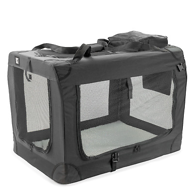 £45.95 • Buy Kct Extra Large Black Fabric Pet Carrier Portable Foldable Cat Travel Dog Crate
