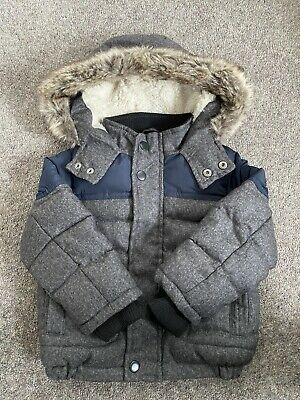 £12 • Buy Padded Coat With Fur Hood Fur Lining 12-18 Months