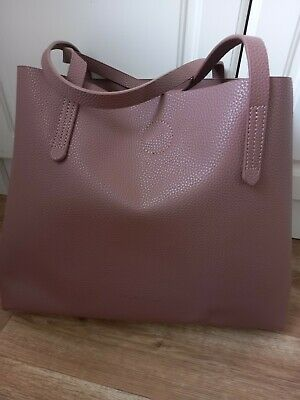 £11.99 • Buy Claudia Canova Tote Shoulder Bag & Smaller Bag Inside USED ONCE! EXC COND!