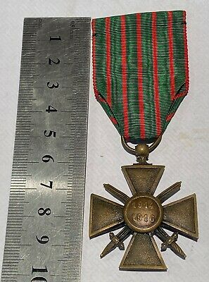 £25 • Buy A Stunning WW1 French Army Croix De Guerre For 1914 -1916 Service MiD - B38