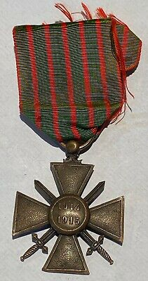 £25 • Buy A Stunning WW1 French Army Croix De Guerre For 1914 - 1915 Service . . . B38