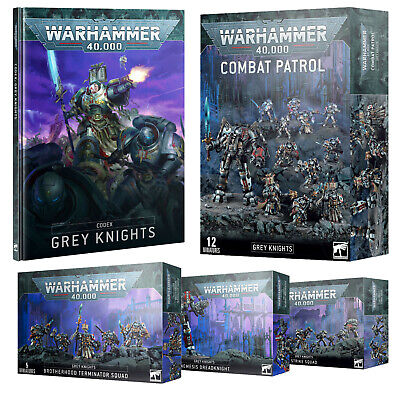 £60 • Buy Grey Knights Warhammer 40k Miniatures & Accessories | Choose Your Kit 40k