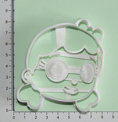 £4.60 • Buy True And The Rainbow Kingdom True Head Cookie  Cutter 3d Printed