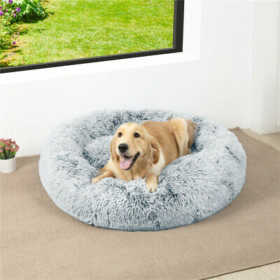 £73.94 • Buy 90/105/120cm BingoPaw Donut Pet Dog Bed Nest Washable Cover For Cage Crate