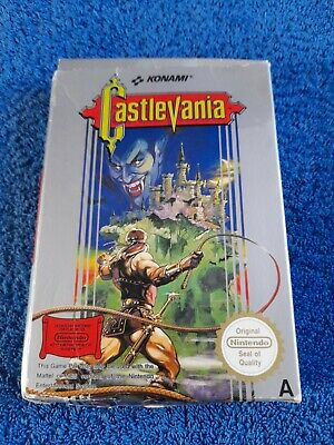 £115 • Buy Nintendo Nes  Castlevania Complete Boxed ..Ultra Rare ..collectable Investment