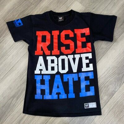 £12.99 • Buy T Shirt WWE Authentic John Cena Rise Above Hate / Hustle Loyalty Respect