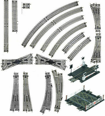 £2 • Buy HORNBY ETC - OO/HO Train Track Sections - Points, Curves - NOS- MASSIVE SAVINGS