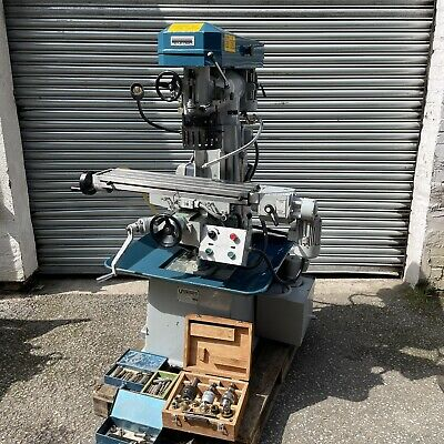 £2675 • Buy Denford Viceroy Milling Machine 3 Phase Coolant Power Feed, Quill Feed
