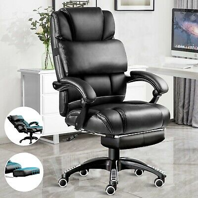 £85.99 • Buy Executive Office Chair Computer Desk Chair Leather Swivel Recliner Gaming Chair