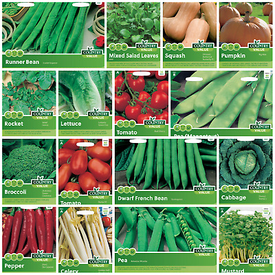 £1.75 • Buy Herb And Vegetable Seeds Mr Fothergills Country Value
