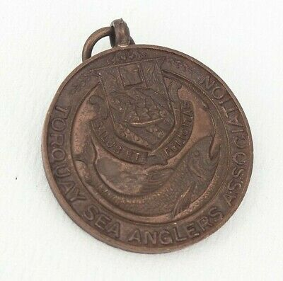 £12.99 • Buy Torquay Sea Anglers Association Medal 1947 'cassidy Cup'