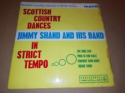 £2.99 • Buy Jimmy Shand & His Band * Scottish Country Dances In Strict Tempo * 7  Ep Single