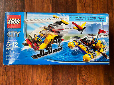£19.99 • Buy Lego City Harbour Helicopter & Raft 2230 Sea Plane - New