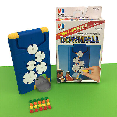 £14.97 • Buy Downfall Travel Vintage MB Games Strategy Turn Twist Counter Fun Family Kid Game