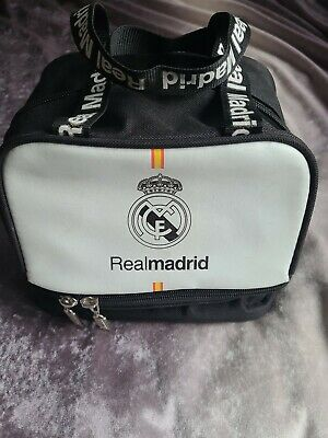 £9 • Buy Official Real Madrid Bag /, Lunchbag With Separate Zip Bottom