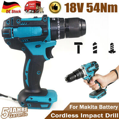 £34.70 • Buy 3 In 1 Replace For MAKITA 18V Cordless Brushless Impact Driver 1/2  Hammer Drill