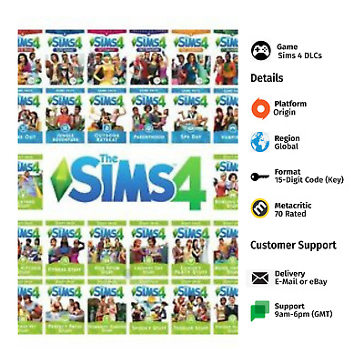 AU34.31 • Buy Sims 4 All DLCs PC Origin Key GLOBAL *QUICK DELIVERY*