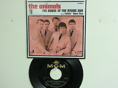 £11.70 • Buy  ' THE ANIMALS ' HIT 45 + P(Copy)[THE HOUSE OF THE RISING SUN]   1964 !