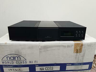 £1650 • Buy Naim CDS3 Cd Player   BOXED WITH REMOTE