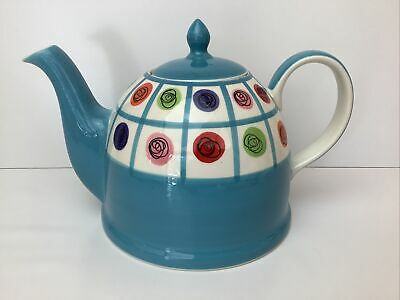 £14.99 • Buy Whittard Of Chelsea Hand Painted Large Teapot Scribble Multi Colour Looks Unused