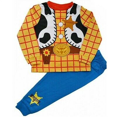 £6.89 • Buy Woody Pyjamas Size Age 3-4 4-5 5-6 Years Toy Story Costume PJs Official Disney