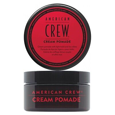 £11.99 • Buy American Crew CREAM POMADE For A Natural Low Shine Hold 85g
